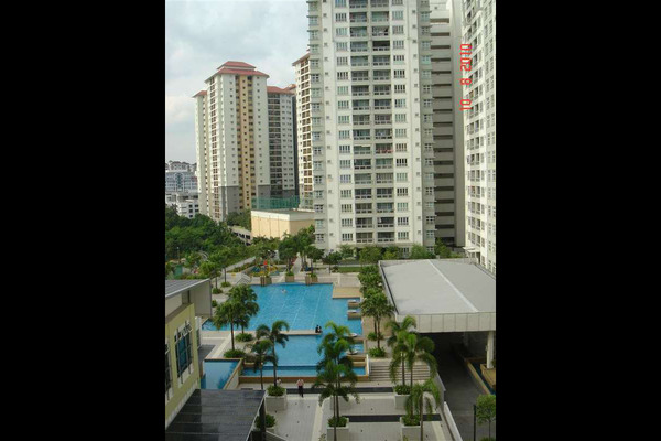 For Rent Condominium at Sterling, Kelana Jaya Leasehold Semi Furnished 4R/2B 2.5k