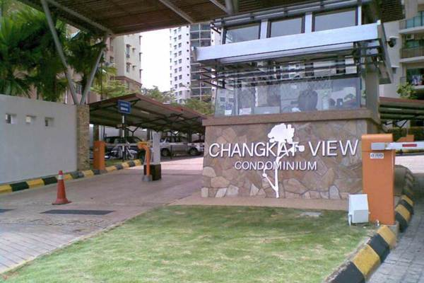 For Rent Condominium at Changkat View, Dutamas Freehold Semi Furnished 3R/2B 1.5k