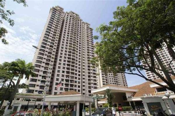 For Rent Condominium at Villa Angsana, Jalan Ipoh Freehold Semi Furnished 3R/2B 1.8k
