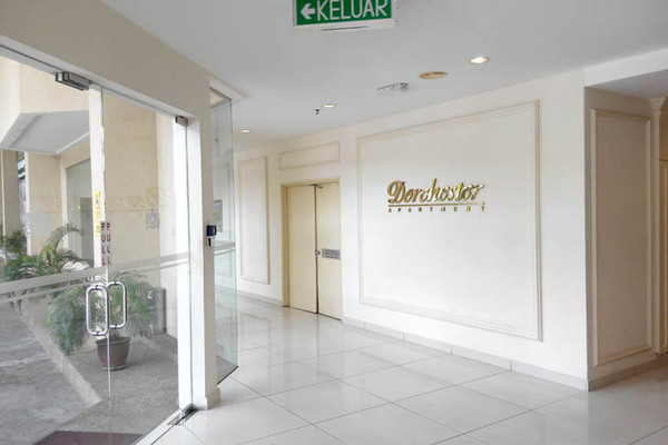 For Rent Condominium at Dorchester, Sri Hartamas Freehold Semi Furnished 1R/1B 1.6k