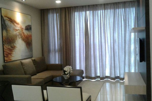 For Rent Condominium at Icon Residence (Mont Kiara), Dutamas Freehold Semi Furnished 4R/4B 8k
