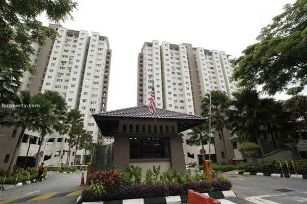 For Rent Condominium at Danau Murni, Taman Desa Leasehold Unfurnished 3R/2B 1.2k