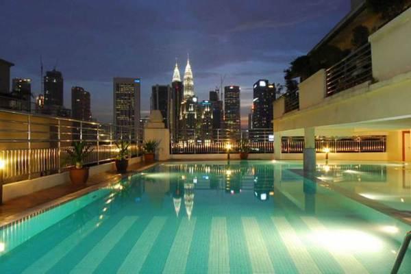 For Rent Condominium at D-Villa Residence, Ampang Hilir Freehold Semi Furnished 2R/1B 2k