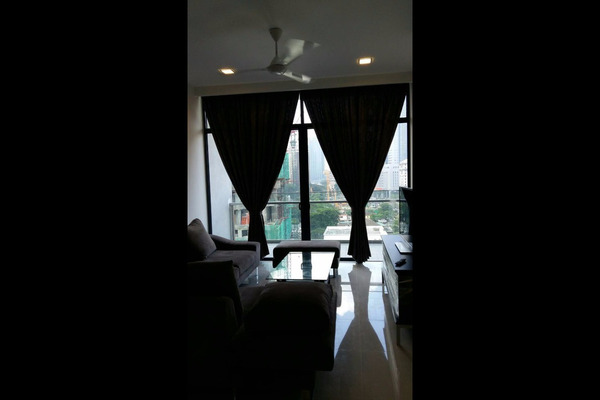 For Rent Condominium at Mirage Residence, KLCC Freehold Semi Furnished 2R/2B 5.5k