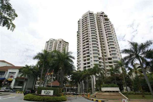 For Rent Condominium at Riana Green, Tropicana Leasehold Semi Furnished 3R/2B 2.7k