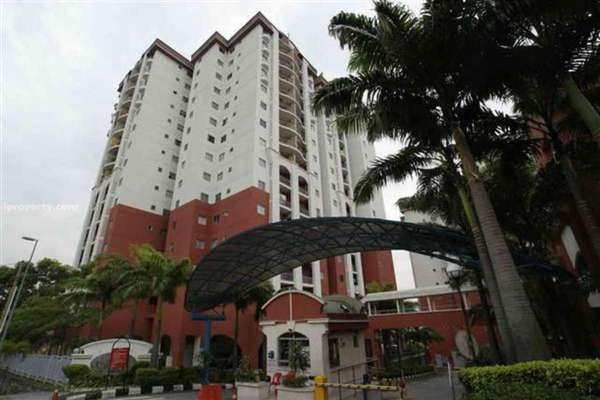 For Rent Condominium at Ketumbar Hill, Cheras Freehold Fully Furnished 3R/2B 1.6k