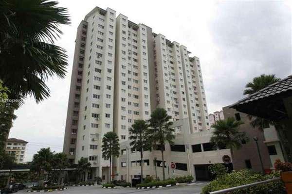 For Rent Condominium at Danau Murni, Taman Desa Leasehold Semi Furnished 3R/2B 1.35k