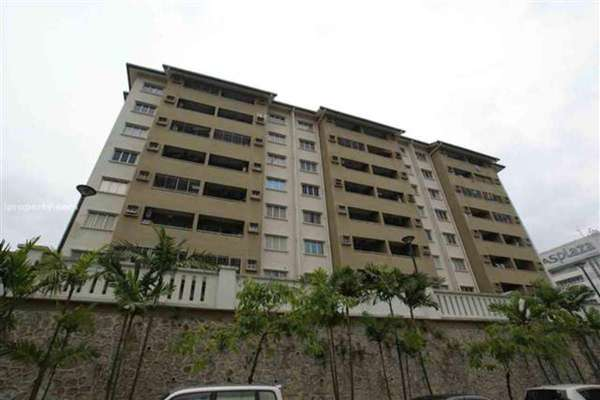 For Rent Condominium at Segar View, Cheras Freehold Fully Furnished 3R/2B 2k