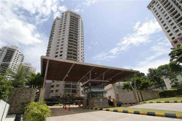 For Rent Condominium at Changkat View, Dutamas Freehold Semi Furnished 3R/2B 1.55k
