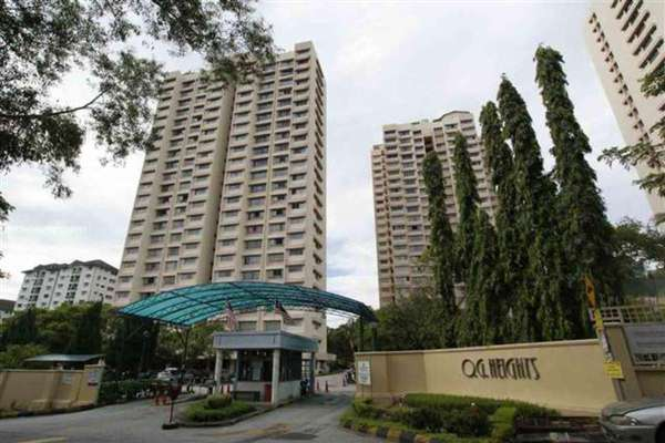For Rent Condominium at OG Heights, Old Klang Road Freehold Semi Furnished 2R/2B 1.3k