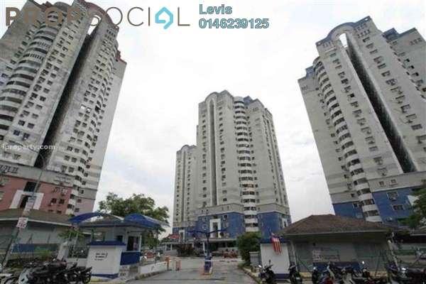 For Rent Apartment at Bukit Pandan 2, Pandan Perdana Freehold Unfurnished 3R/2B 1.1k