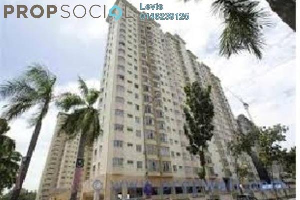For Rent Condominium at Endah Regal, Sri Petaling Leasehold Fully Furnished 3R/2B 1.65k