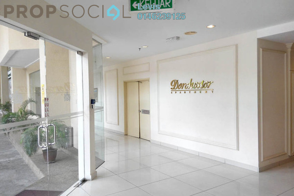 For Rent Condominium at Dorchester, Sri Hartamas Freehold Fully Furnished 1R/1B 1.35k