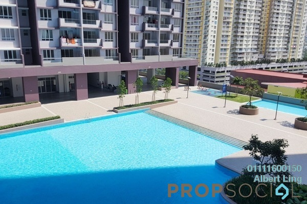 For Rent Condominium at Platinum Lake PV21, Setapak Freehold Unfurnished 2R/2B 1.2k