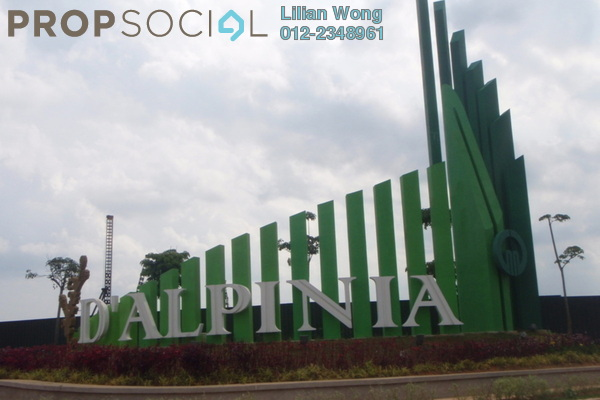 For Rent Townhouse at D'Alpinia, Puchong Leasehold Fully Furnished 3R/2B 2k
