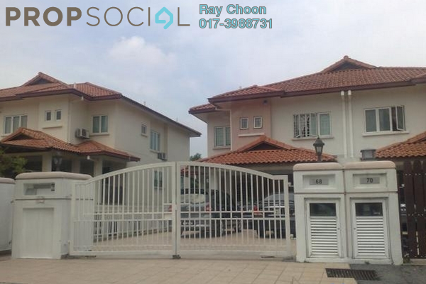 For Sale Terrace at Taman Bukit Segar, Cheras Leasehold Semi Furnished 5R/4B 938k