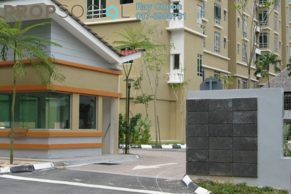 For Sale Condominium at Villa Park, Seri Kembangan Freehold Semi Furnished 4R/3B 550k