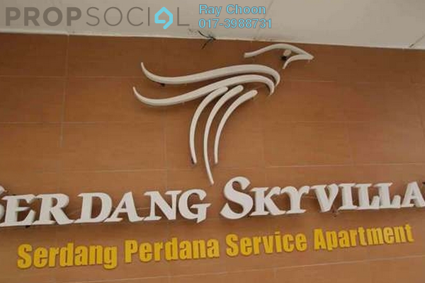 For Sale Condominium at Serdang Skyvillas, Seri Kembangan Leasehold Semi Furnished 3R/2B 238k