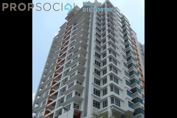 For Sale Condominium at Residensi Desa, Kuchai Lama Freehold Semi Furnished 3R/3B 615k