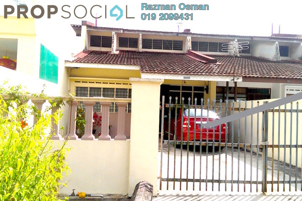For Sale Terrace at Taman Perling, Iskandar Puteri (Nusajaya) Freehold Semi Furnished 3R/2B 292k