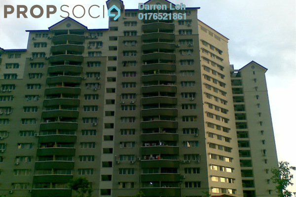 For Sale Condominium at Sentul Utama Condominium, Sentul Leasehold Fully Furnished 3R/2B 320k