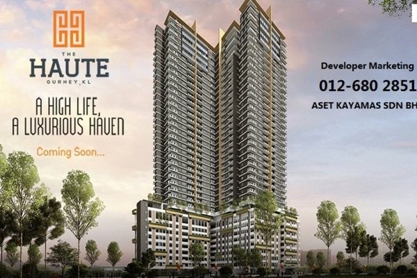 For Sale Condominium at The Haute, Keramat Leasehold Unfurnished 3R/2B 520k