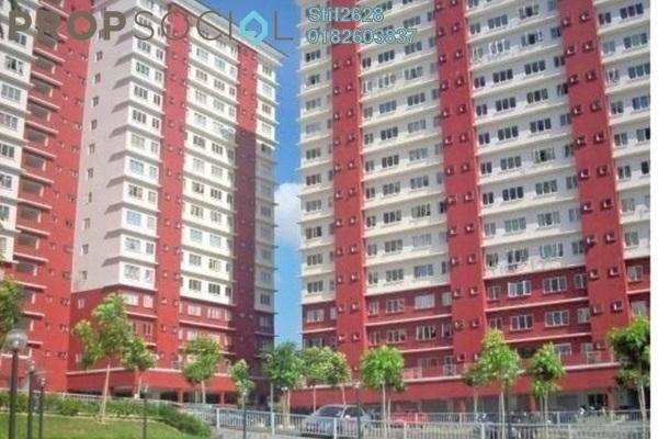 For Sale Apartment at The Lumayan, Bandar Sri Permaisuri Leasehold Semi Furnished 3R/2B 380k