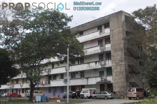 For Rent Apartment at Taman Tun Hussein Onn, Seberang Jaya Freehold Unfurnished 2R/1B 480translationmissing:en.pricing.unit