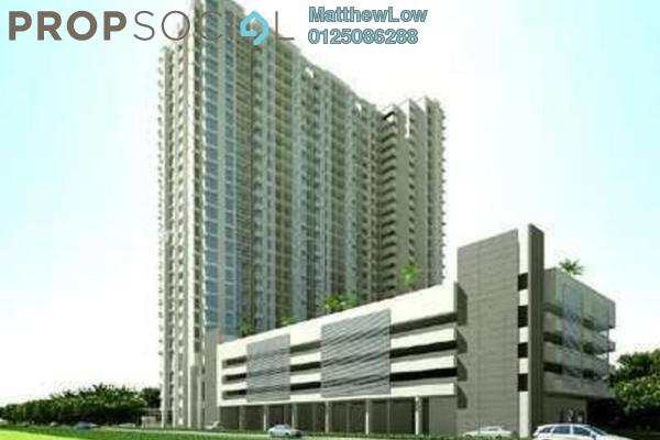For Sale Condominium at Ocean View Residences, Butterworth Freehold Fully Furnished 3R/2B 415k