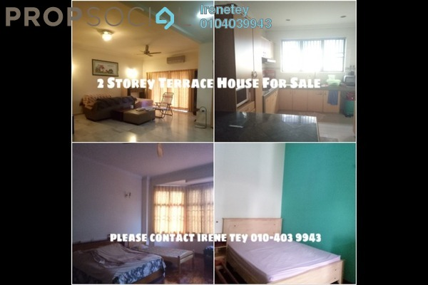 For Sale Terrace at Tropicana Indah, Tropicana Leasehold Fully Furnished 4R/3B 1.3m