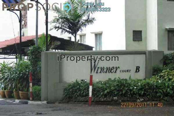 For Rent Condominium at Winner Court B, Desa Petaling Leasehold Unfurnished 3R/2B 1.1k