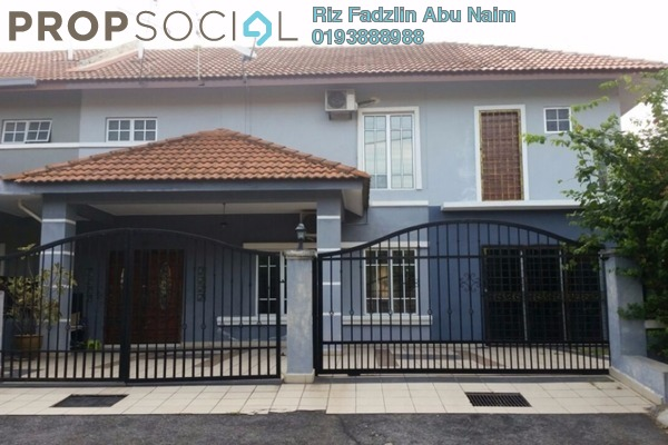 For Sale Semi-Detached at Seksyen 2, Bandar Bukit Mahkota Freehold Semi Furnished 5R/5B 699k