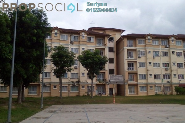 For Sale Apartment at Cendana Apartment, Shah Alam Freehold Unfurnished 3R/2B 200k