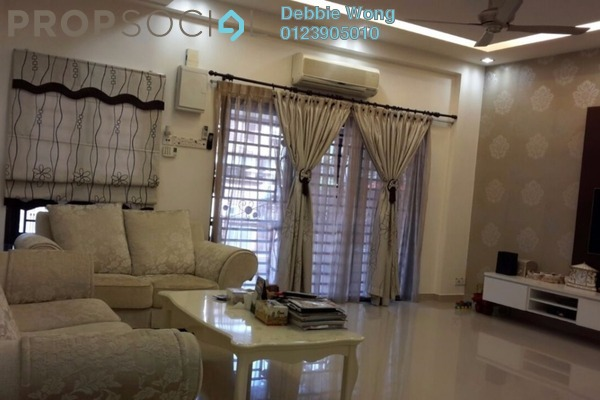 For Sale Terrace at SL13, Bandar Sungai Long Freehold Fully Furnished 4R/3B 780k