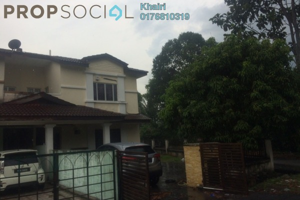 For Sale Terrace at Bandar Saujana Utama, Sungai Buloh Leasehold Semi Furnished 4R/3B 490k