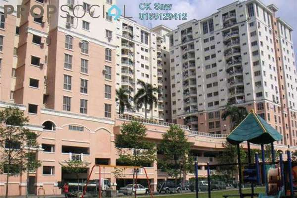 For Rent Condominium at Vista Saujana, Kepong Freehold Fully Furnished 3R/2B 1.1k