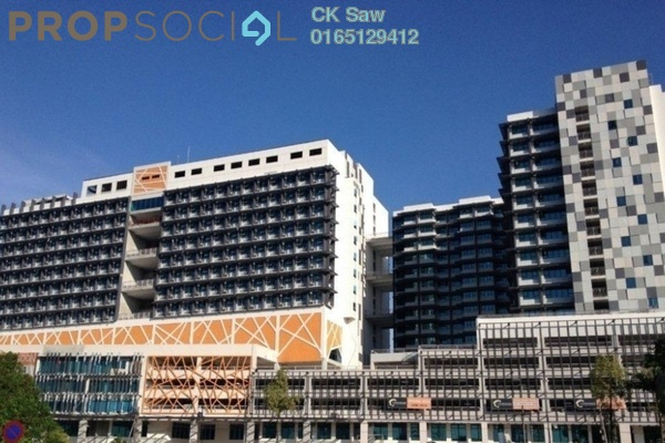 For Rent Condominium at Centrestage, Petaling Jaya Leasehold Fully Furnished 1R/1B 1.7k
