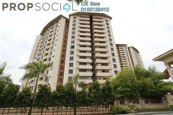 For Rent Condominium at Palm Spring, Kota Damansara Leasehold Semi Furnished 3R/2B 1.2k