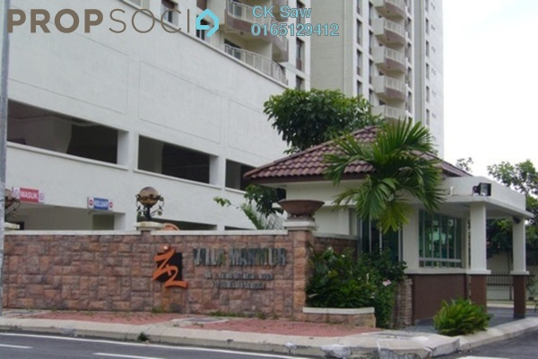 For Rent Condominium at Villa Makmur, Dutamas Freehold Fully Furnished 3R/2B 1.6k