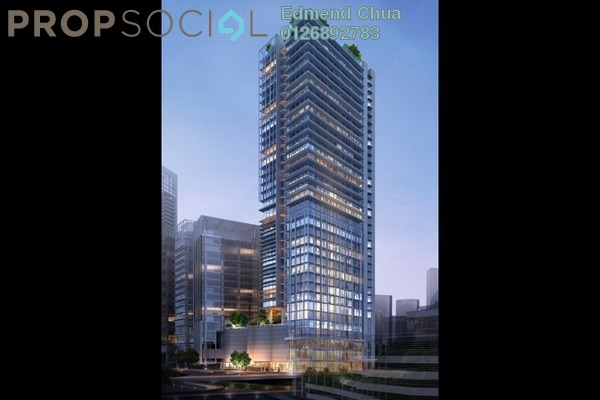 For Sale Office at KL Eco City, Mid Valley City Leasehold Unfurnished 0R/0B 1.47m