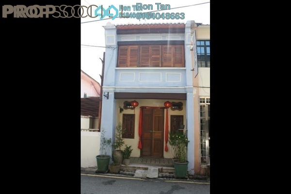 For Sale Terrace at Lebuh Pasar, Georgetown Freehold Fully Furnished 3R/3B 1.95m