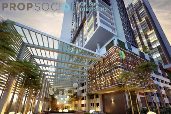 For Sale Condominium at CyberSquare, Cyberjaya Freehold Semi Furnished 1R/1B 268k