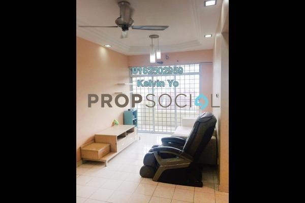 For Rent Condominium at Damansara Sutera, Kepong Freehold Semi Furnished 3R/2B 1.3k