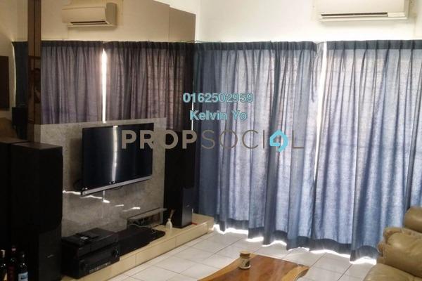 For Rent Condominium at Menara Menjalara, Bandar Menjalara Freehold Semi Furnished 3R/2B 1.5k