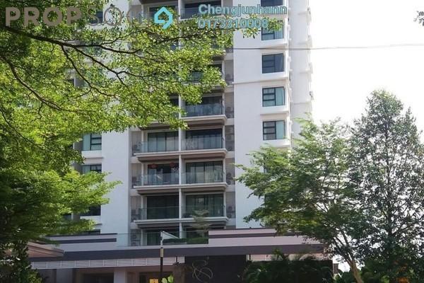 For Sale Condominium at Papillon Desahill, Taman Desa Freehold Fully Furnished 2R/3B 1.3m