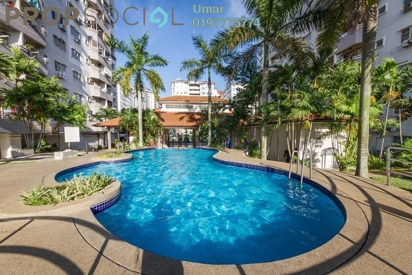 For Sale Apartment at Jati 1 Apartment, Subang Jaya Freehold Semi Furnished 3R/2B 320k