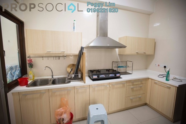 For Rent Condominium at Desa Idaman Residences, Puchong Freehold Semi Furnished 3R/2B 1.1k