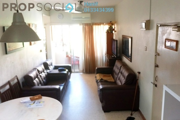 For Sale Apartment at Sri Melor Apartment, Ukay Leasehold Semi Furnished 3R/2B 270k