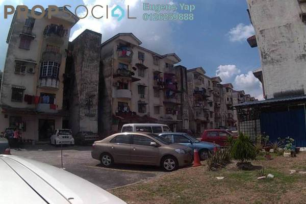 For Sale Apartment at Jinjang Selatan, Jinjang Leasehold Unfurnished 3R/2B 150k
