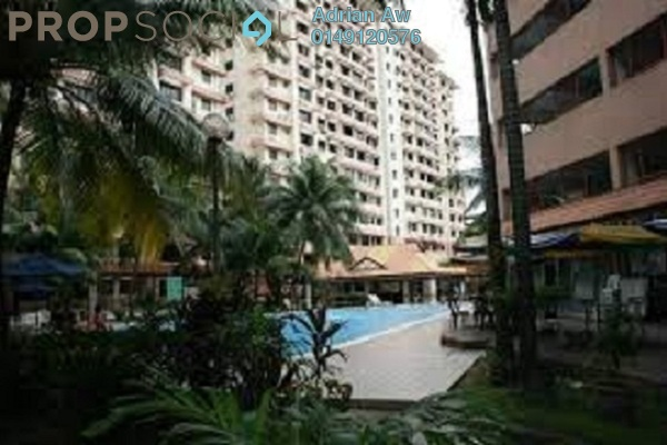 For Rent Condominium at Tasik Heights Apartment, Bandar Tasik Selatan Leasehold Semi Furnished 3R/2B 1.3k